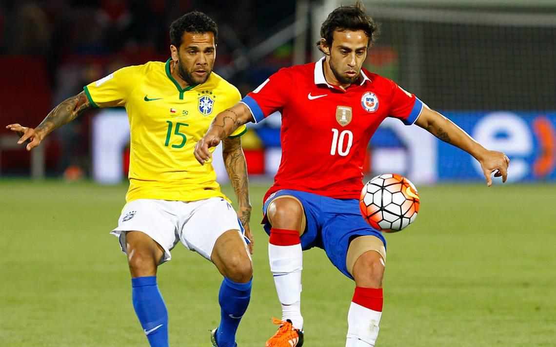 PARTIDO BRASIL VS CHILE