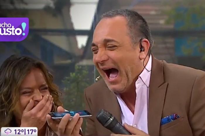 ¡Lucho y Kathy hablaron en vivo con animadores de otro matinal!
