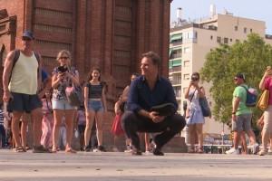 Amaro se encantó con las sofisticadas recetas de Barcelona