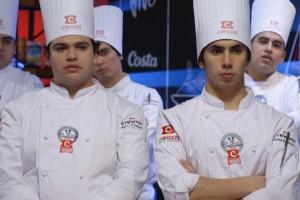 Lucas Villegas y Ariel Zapata hicieron una fusión de sabores chilenos