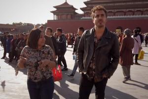 Nicolás Oyarzún descubrió los misterios de la inmensa y majestuosa capital de China: Beijing