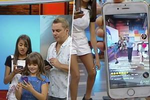 Hijas de Daniel Valenzuela dan clases de Tik Tok en Mucho Gusto