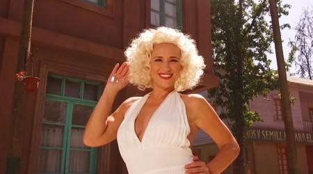 Jacinta brilló de sensualidad disfrazada de Marilyn Monroe