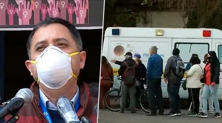 Molestia: filas desde las 5 AM en retiro de medicamentos en Hospital Félix Bulnes