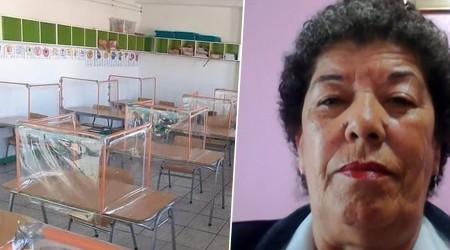 """""""¿Donde ponemos a todos?"""": Sostenedora por cubículos en colegio"""