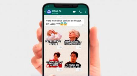 Descarga los stickers para Whatsapp de tus personajes favoritos de Pituca Sin Lucas