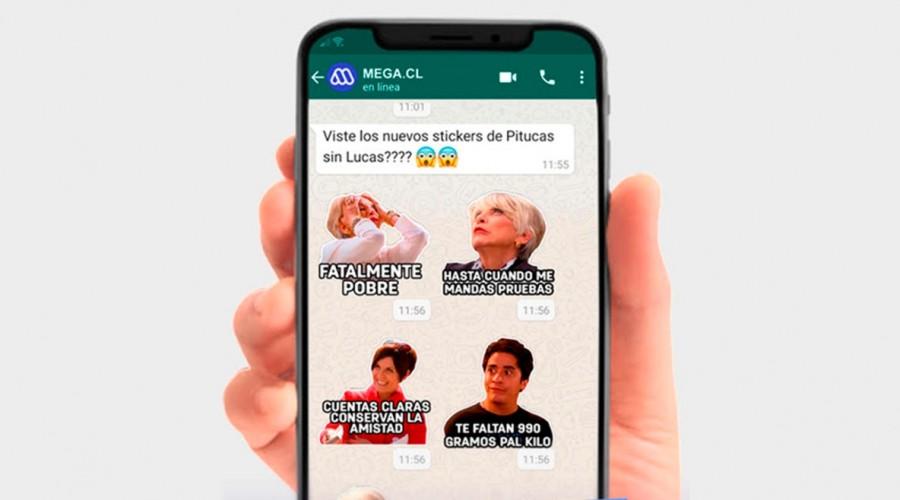 Descarga aquí los stickers para Whatsapp de tus personajes favoritos de Pituca Sin Lucas