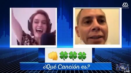 José Miguel Viñuela aceptó el desafío de los emojis en #DalePlayLive: ¿Qué canción es?