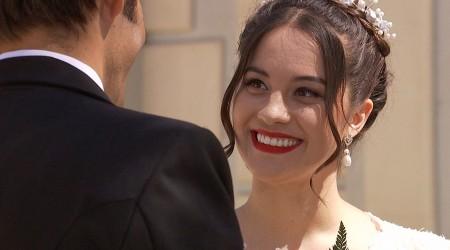 Laura y Carlos se casaron en el final de Yo Soy Lorenzo