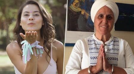 """Marita García y Prabhunam Kaur enseñan técnicas sobre """"niñez y pandemia"""""""