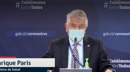 """Ministro Paris descarta traslado de pacientes chilenos a Argentina: """"Eso no es exacto"""""""