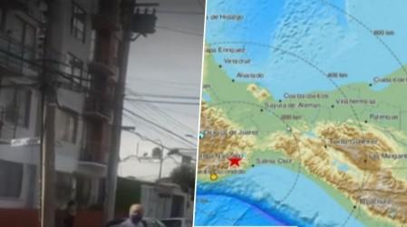 Terremoto 7.5 sacude el sur de México: Primeras imágenes