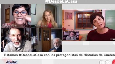 Protagonistas de Historias de Cuarentena revelan los trucos que usaron para grabar desde la casa