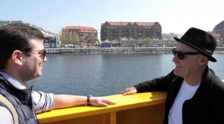 Marcelo Cicali llegó a Dinarmarca en busca de historias, memorias y muchos sabores de Chile