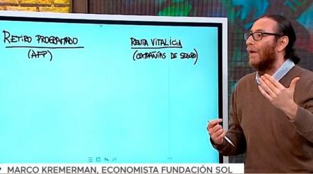 Economista de fundación Sol explica quiénes no pueden sacar el 10% de su AFP
