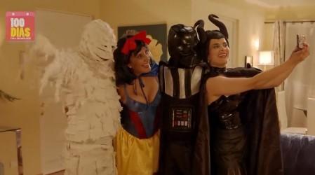 ¿Darth Vader o la Momia?: La última locura de Javier para no ser descubierto en 100 Días Para Enamorarse