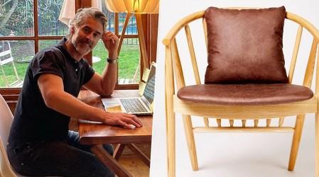 """Carlos Díaz presenta su emprendimiento de muebles y decoración: """"Decosit Design"""""""