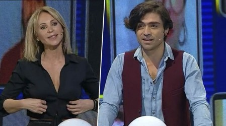 Eva Gómez y Etienne Bobenrieth lo dieron todo por el pozo de 100 millones de pesos