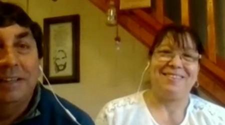 """El romántico reencuentro de Alicia y """"Osito"""" para pasar juntos las Fiestas Patrias"""