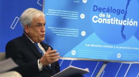 Presidente Piñera anuncia que recurrirá al TC por segundo retiro del 10%