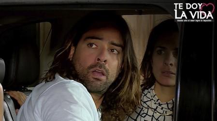 ¡Yoana descubrió a Fabián e Isidora juntos!
