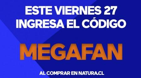Ingresa el código MEGAFAN al comprar en Natura Friday y obtén un regalo especial