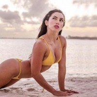 Bárbara Córdoba compartió su sensual rutina de ejercicios
