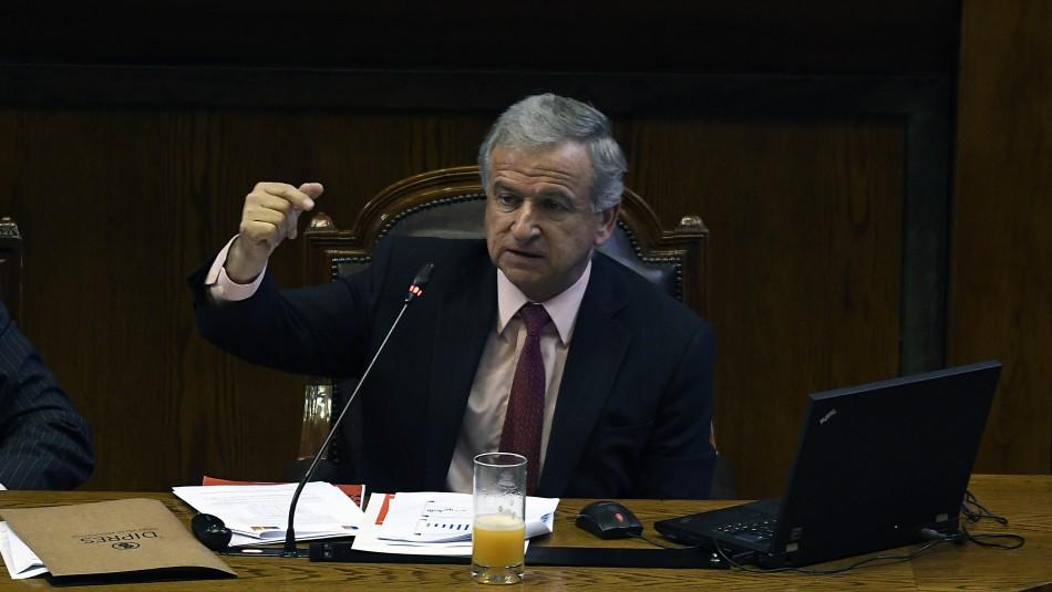 Felipe Larraín, ministro de Hacienda / Agencia Uno