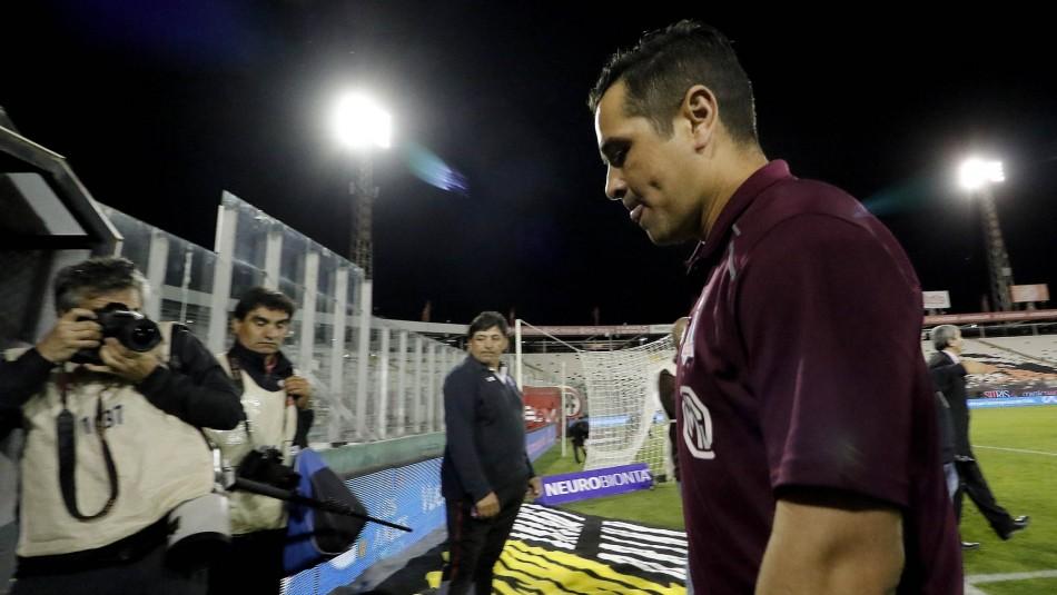 Tapia dejó el banco de Colo Colo.