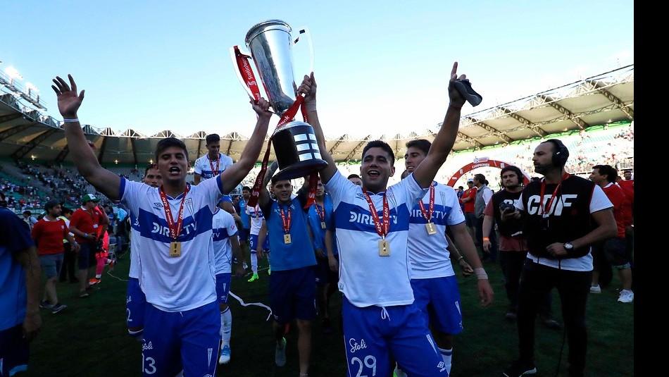 La UC fue felicitada por la FIFA. / Agencia Uno
