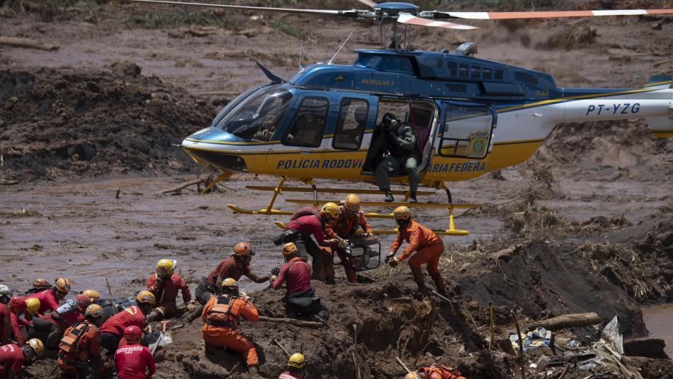 Rescatistas siguen trabajando en el estado de Minas Gerais / AFP.