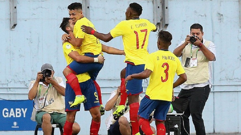Ecuador es uno de los grandes equipos del torneo. / Sudamericano