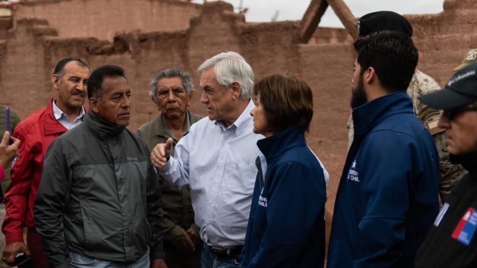 Presidente Piñera / Foto Presidencia.