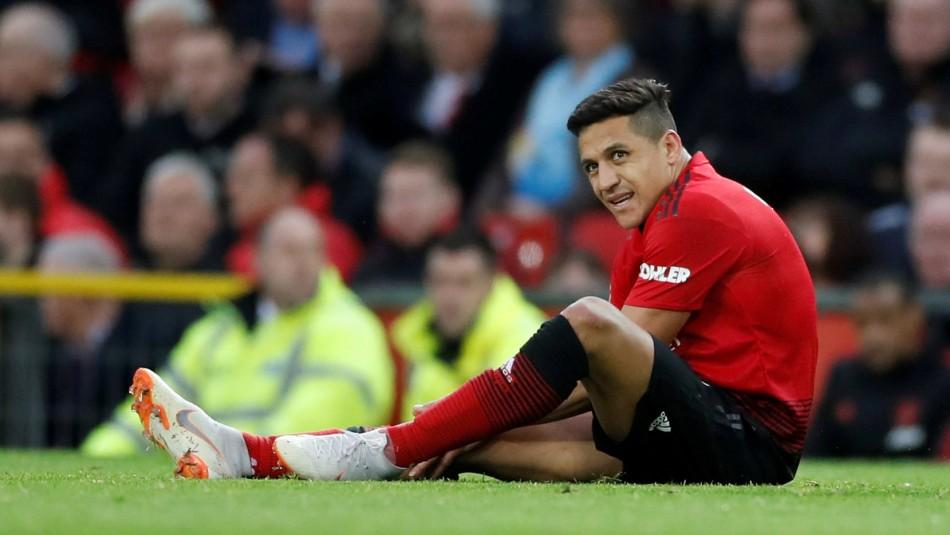 Alexis Sánchez es baja en United. / Reuters