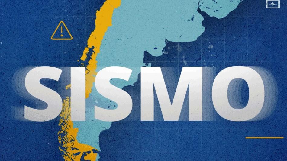 Temblor magnitud 5,7 se registra en la zona centro norte del país