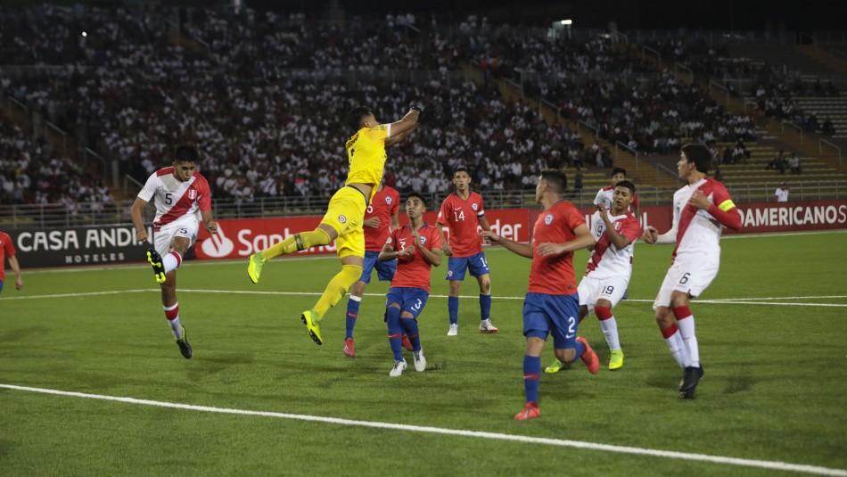 Chile busca triunfo en el Sudamericano. / Sub 17