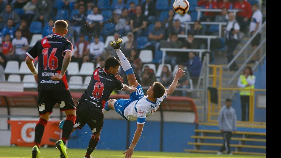 La UC a la cancha en Copa Libertadores. / Agencia Uno