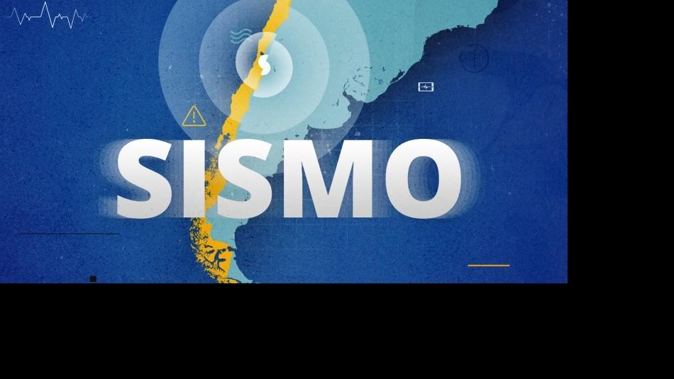Temblor de 4,1 grados se registra en la zona norte de Chile