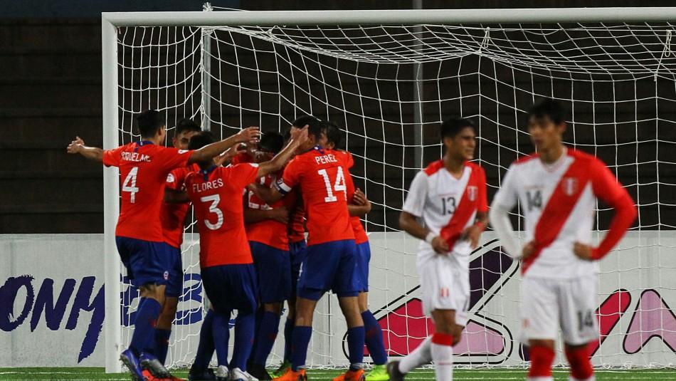 Chile ante Perú / Agencia Uno