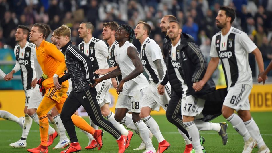 Festejo de la Juventus / Reuters.
