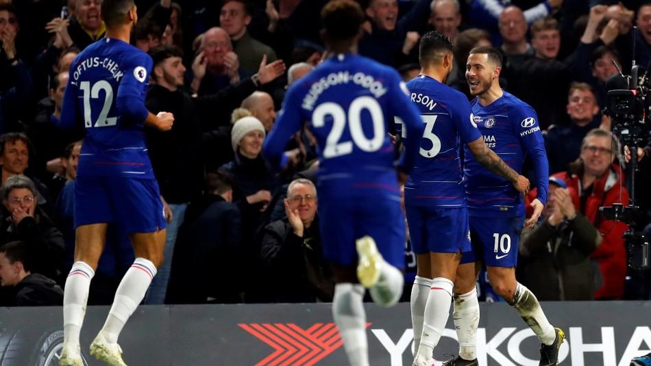 Hazard figura en Chelsea. / Reuters
