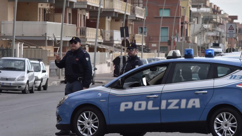 Policía detiene a Mafia Italiana / AFP