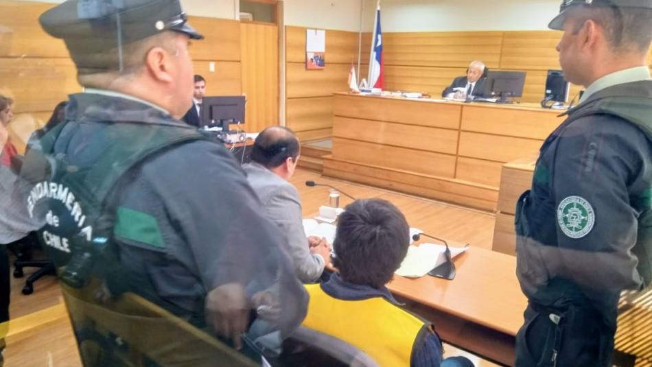 Fiscalía logra prisión preventiva para femicida de Trehuaco