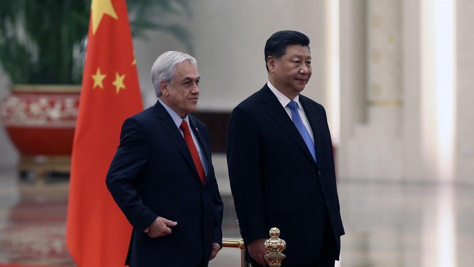 Presidente Piñera tras reunión bilateral con Xi Jinping: Queremos estrechar los lazos / Agencia UNO.