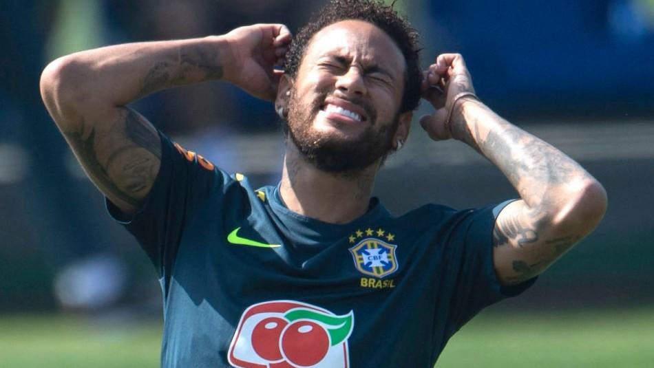 Neymar en la mira en Brasil. / Reuters