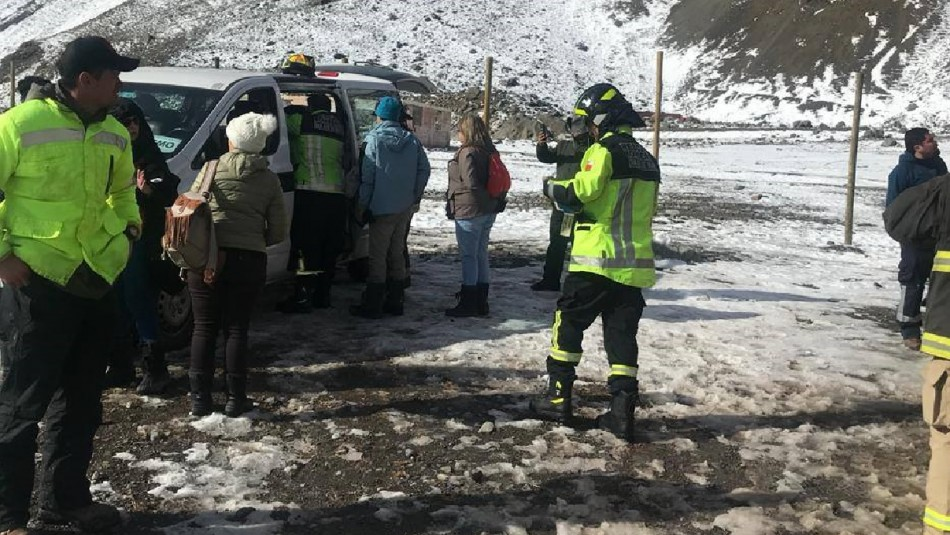 Accidente en Embalse el Yeso / Facebook: @DiarioNCM