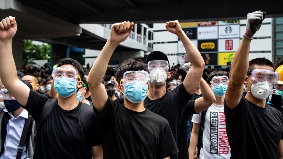 Autoridades de Hong Kong aplazan examen a ley de extradición a China por las históricas protestas / Agencia AFP.