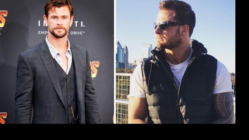 [FOTOS] ¡Duelo de galanes! ¿Te quedas con Chris Hemsworth o con su doble?