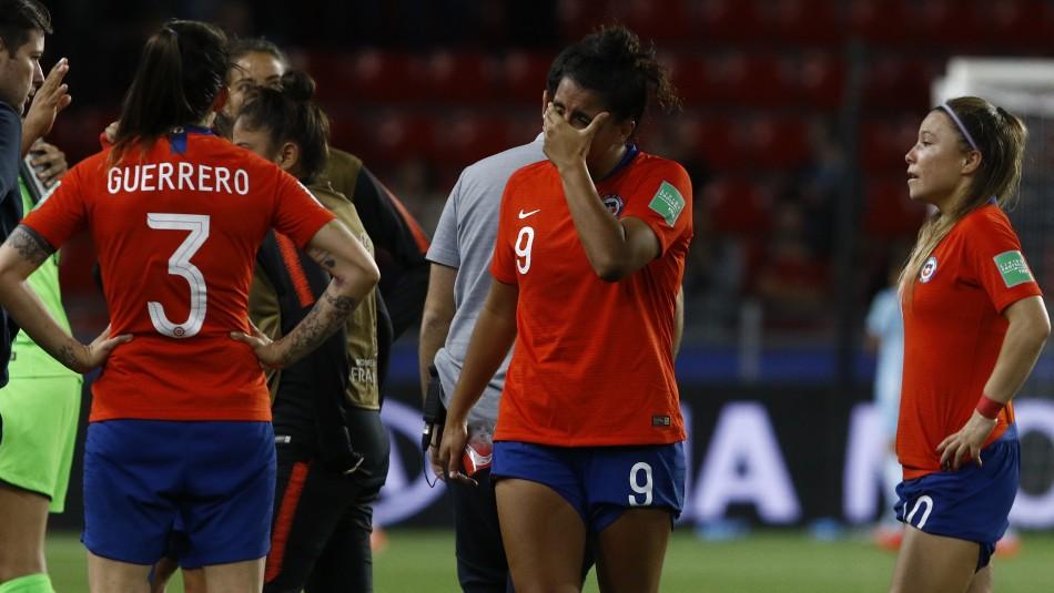 La Roja quedó fuera del Mundial / AgenciaUno.