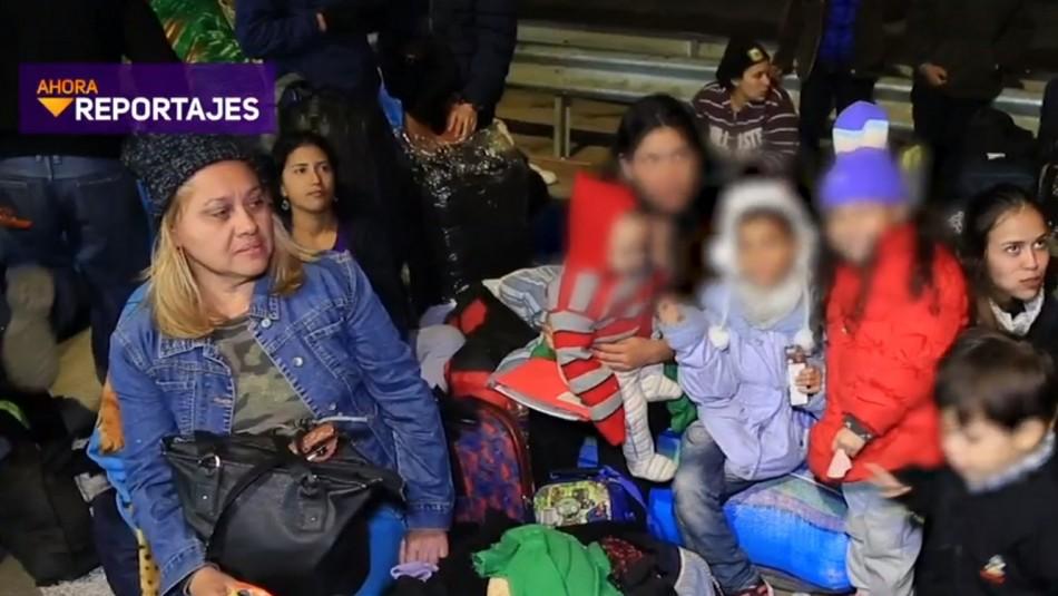 Drama en la frontera: Cientos de venezolanos luchan por ingresar a Chile